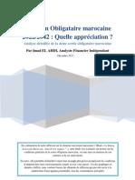 Emission Obligataire marocaine 2022 2042 Quelle appréciation