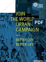 Join the World Urban Campaign. Better City Better Life.