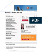 Accounting and Assurance News Today 2012 Issue 38