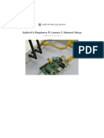 Adafruit Raspberry Pi Network Setup