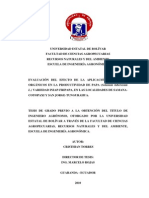 Evaluación del efecto de la aplicación de abono orgánico en la producción de papa (Solanum tuberosum L.) variedad INIAP-FRIPAPA