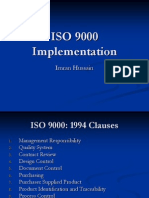 6. ISO 9000 - Implementation