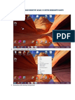 Tutorial Cara Menampilkan Desktop Agar 10 Detik Berganti