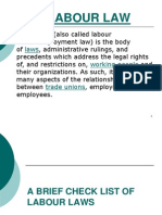Labour Laws Ppt