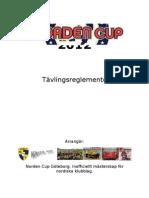 Tävlingsreglemente 2012