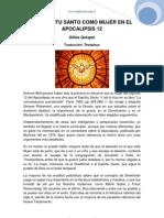 Quispel - El Espiritu Santo Como Mujer en Apocalipsis 12