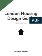 Interim London Housing Design Guide