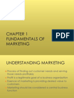 CHAPTER 01 (Fundamentals of Marketing)