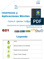 Introducción interfaces móviles