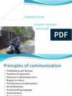 A PAPER ON COMMUNICATION