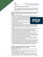 CV_SND for Language Services