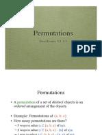 Permutations Slides