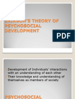 Erikson's Theory of Psychosocial Development 2