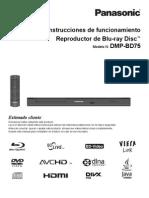 Panasonic DMP BD75