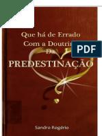 A doutrina da predestinação