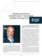 theory of quantum entropy analysis