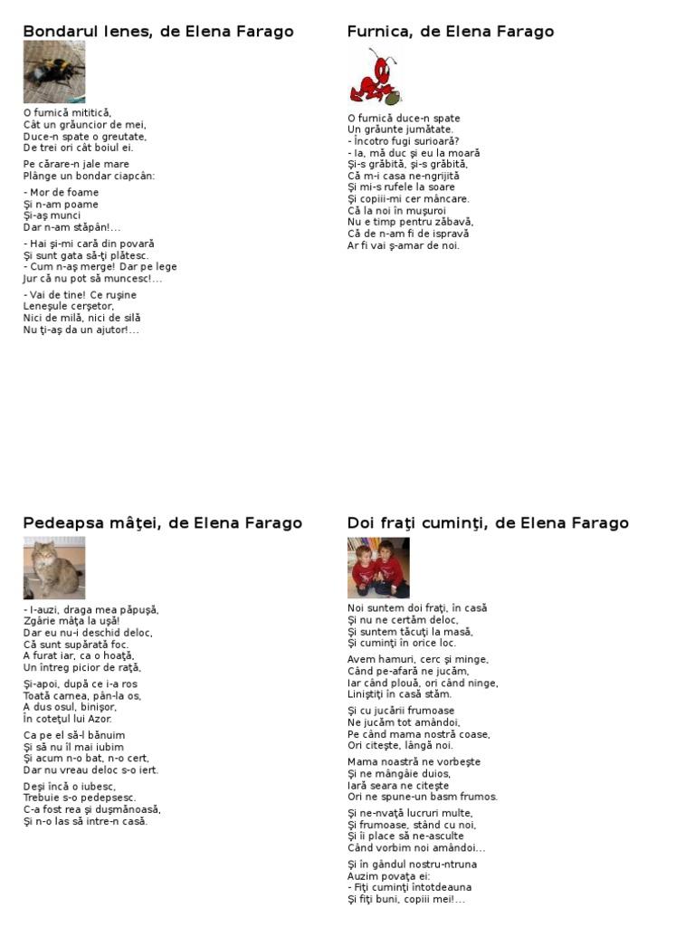 Doi Prieteni De Elena Farago