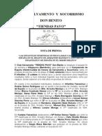 Nota de Prensa SALVAMENTO (1)