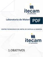 Presentacion Laboratorio Materiales 10 Aniversario