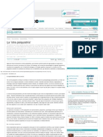 Entrevista a J. Mª ÁLVAREZ y P. EIRAS sobre la Otra psiquiatría, en Diario Medico