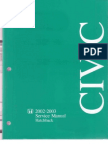 Honda Civic Service Manual 96-98