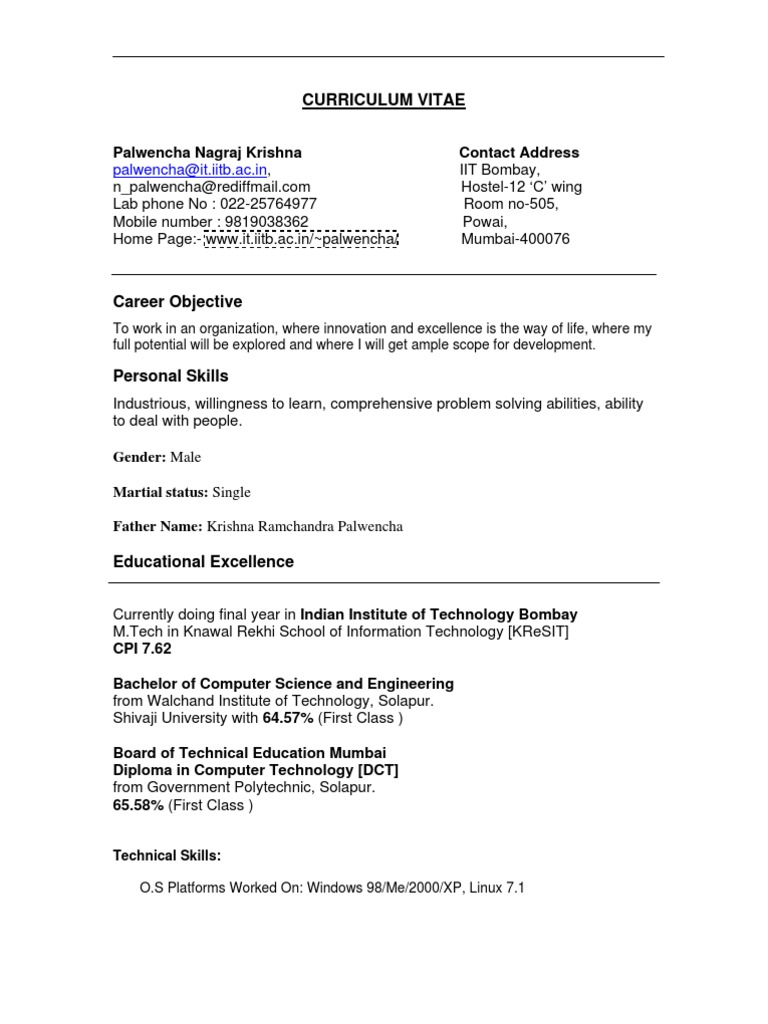 Resume | Quality Of Service | Databases