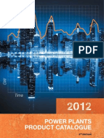 Power Plants Product Catalogue 2012 2nd Edition