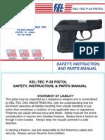 kel-tec p32 owners manual