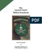 lightfoot  militia standards