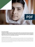 Invitation Malala