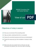 ICC PresentationonConsultingSector
