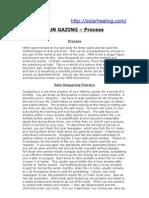 SUN GAZING-process