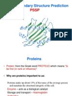Protein Prediction