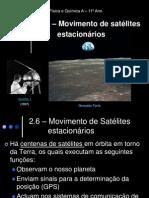 FQ A 11 Ano - Satélites Estacionários