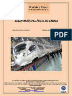 ECONOMÍA POLÍTICA EN CHINA (Es) CHINESE POLITICAL ECONOMY (Es) TXINAKO EKONOMIA POLITIKOA (Es)