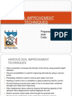 Soil Improvement Techniques