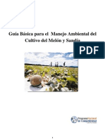 Guia ambiental para el cultivo del melon