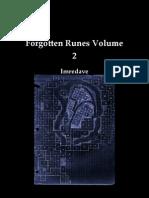Forgotten Runes Volume 2