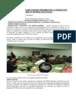 Informe de Actividad Panama