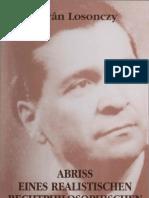 Losonczy Abriss Eines Realistischen Rechtsphilosophie Hrsg Csaba Varga 2002