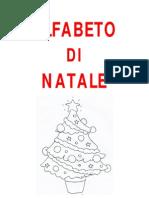 ALFABETO DI NATALE testo e immagini