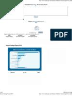 Insurer Ratings Report 2011