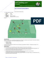 Coaching Outside Defenders on Forward Passing Options