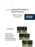 Biomechanics of Sprinting - Fletcher