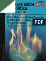 Giorgi, Gabriel y Rodriguez, Fermin (Comps.) - Ensayos Sobre Biopolitica