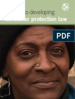 A Guide to Developing Consumer Protection Law
