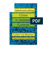Gailyn Van Rheenen - Communicating Christ in Animistic Contextts