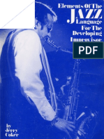 Elements-of-the-Jazz-Language - Jerry Coker