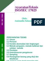 Persyaratan Teknis ISO 17025