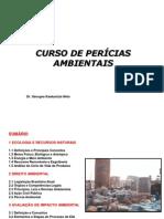 Ecologia e Recursos Naturais - MODULO I DO CURSO DE PERICIA AMBIENTAL